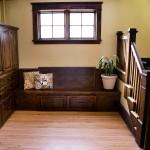 Custom Built-in Closet & Bench